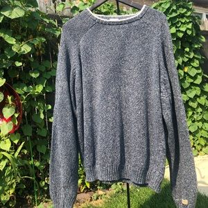 Vintage grey knit Columbia sweater